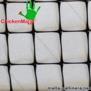 Malla plástica para gallinero chickenmalla de muestra